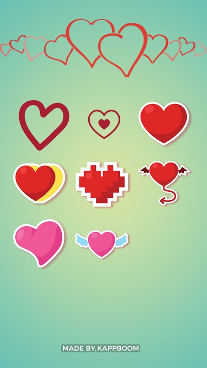 Heart Collection Stickers