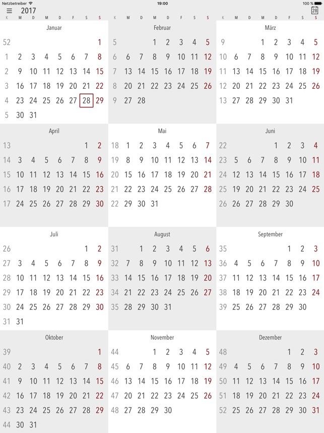 Cali - Die Kalender App Screenshot