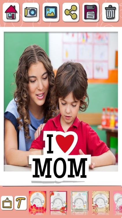 Mother's day photo frames for album – Pic editor screenshot-4
