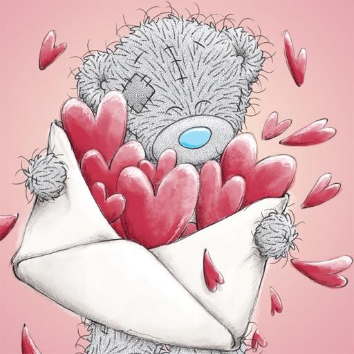 Цветами надписями, открытки день валентина тедди