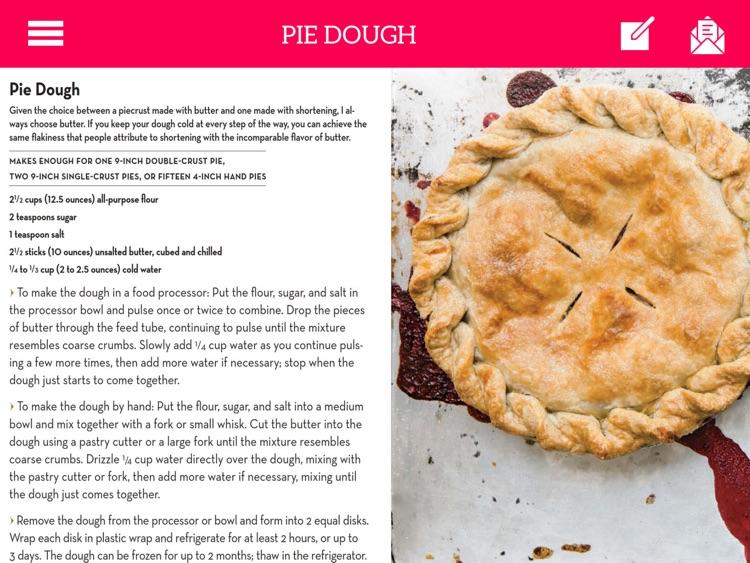 Baking - Pies and Tarts for iPad