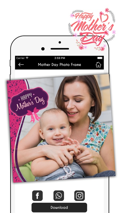 Happy Mother's Day Photo Frames Pro