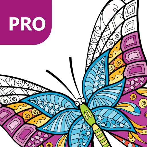 Butterfly Coloring Pages for Adults PRO