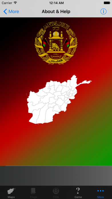 Afghanistan Province Maps and Capitals screenshot four