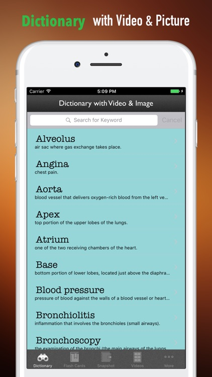 Department of Respiratory-Glossary and Study Guide screenshot-3