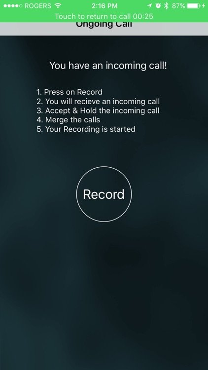 Automatic Call Recorder™ for Calls Made with app screenshot-3