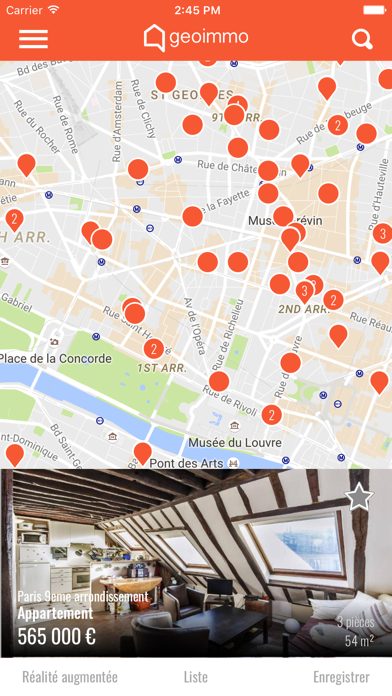 messages.download Immobilier Geoimmo software