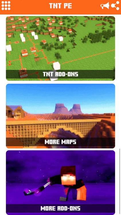 Super TNT Addons for Minecraft Pocket Edition PE app image