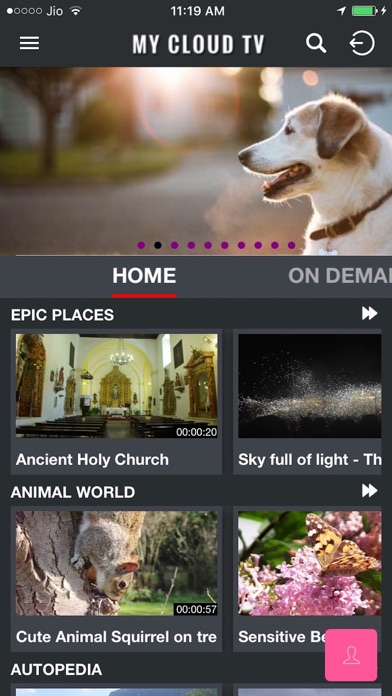 MyCloudTV screenshot two