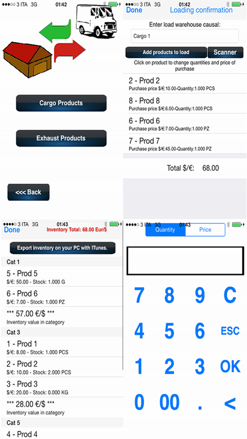 Warehouse Management App 截图