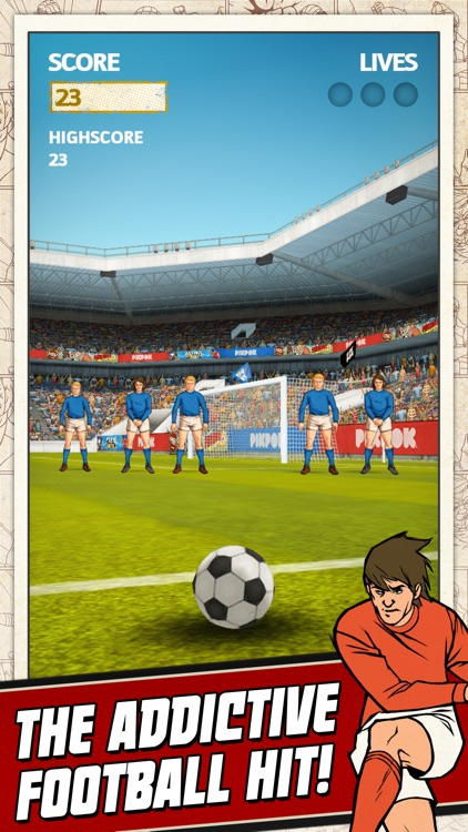 Flick Kick Football screenshot-0