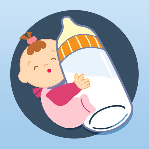 Baby Helper for baby growth icon