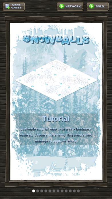 Snowballs! screenshot four