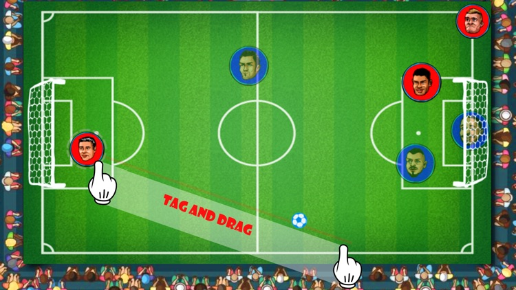 Touch Soccer Futsal Shoot - Two Player Football app image