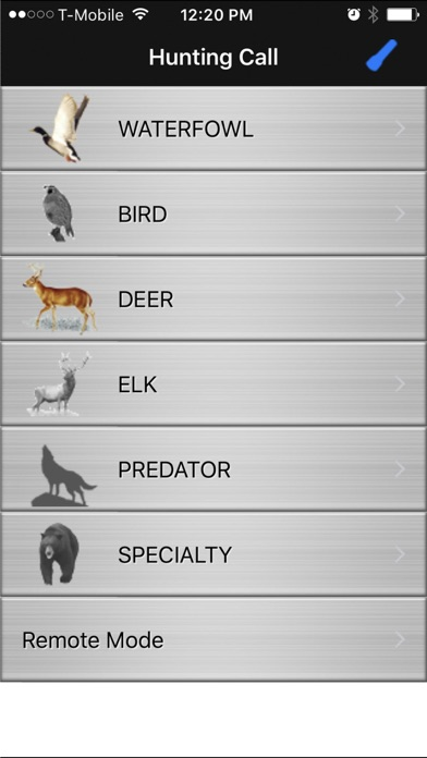Screenshot for Hunting Call in Romania App Store