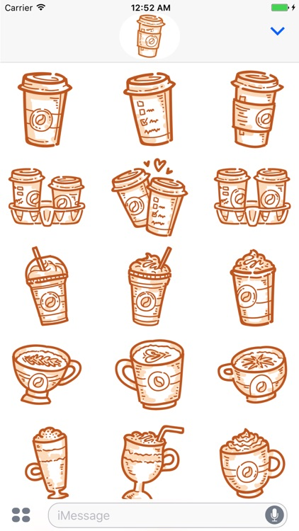 Coffee time! iMessage stickers screenshot-4