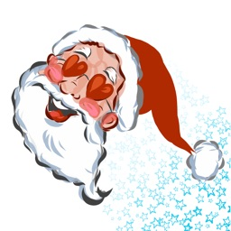 Santa Claus and Christmas stickers