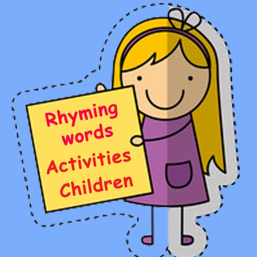 Easy Kindergarten Rhyming Words List With Examples iOS App