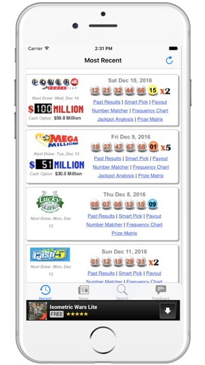 SC Lottery Results - South Carolina Lotto Results on the App