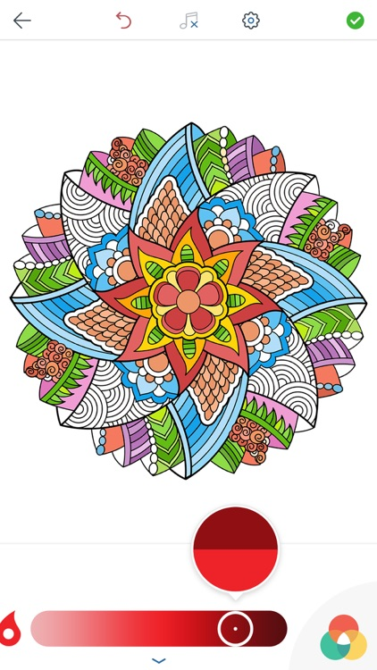 Magic Mandalas - Coloring Book for Adults