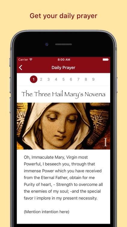 Pray Catholic Novenas screenshot-3