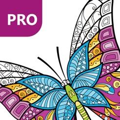 Kelebek Boyama Büyükler Için Boyama Kitabı Pro App Storeda