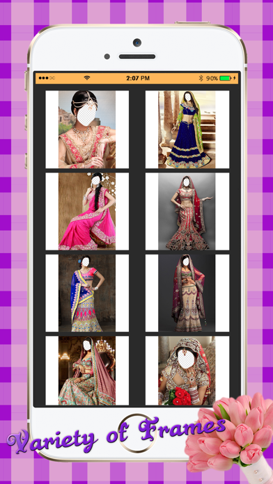Indian Bridal Photo Montage