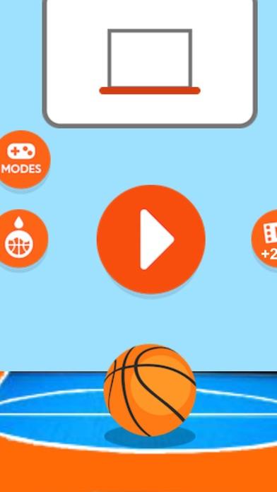 Shoot Hoops Basketball Game screenshot one