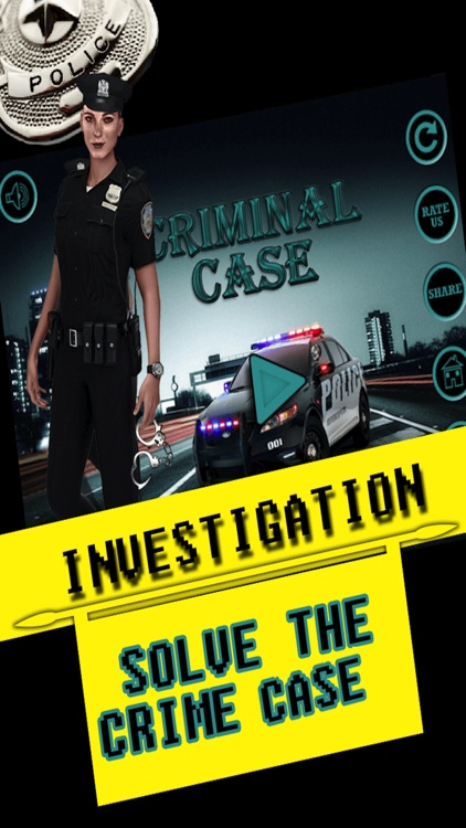 Crime Case: MurderCase and Hidden object Games