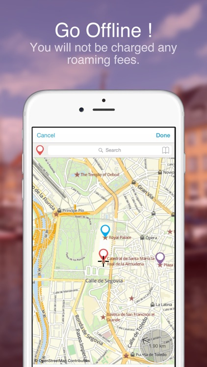 Madrid on foot : Offline map screenshot-3