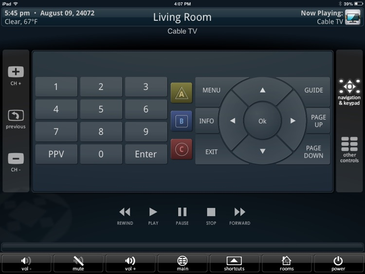 URC Mobile Pad screenshot-2