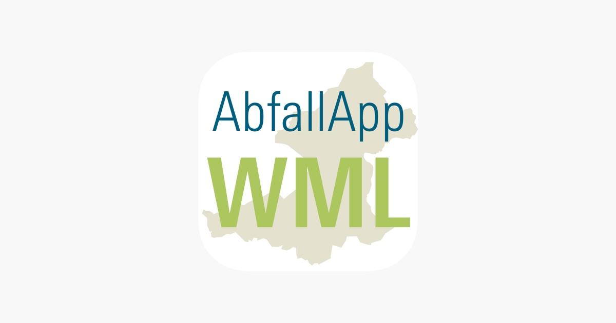 Abfall App Wml Dans L App Store