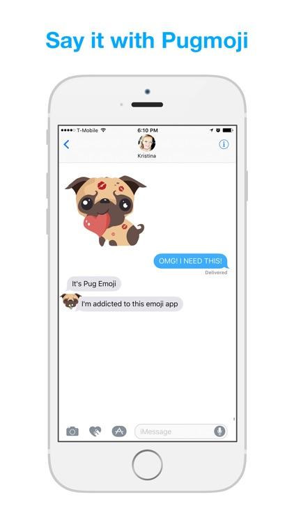 Pug Moji - Pug Emoji & Stickers