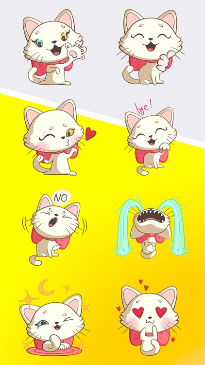 Nika The Cat Stickers Pack 1 screenshot-3