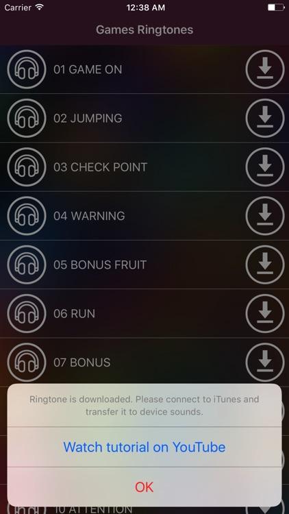 Video Games Ringtones-Free Retro Sounds for iPhone screenshot-3