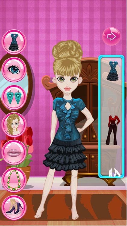 Fashion Girls Dress Up Top Model Styling Makeover