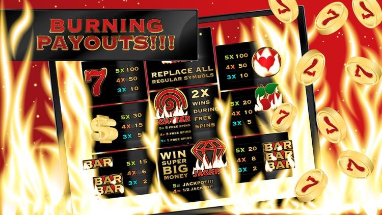 Burning Hot Inferno - Vegas Casino Slot Machine screenshot-3