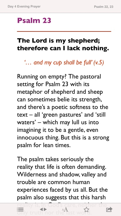 Reflections on the Psalms: Bible notes from CofE