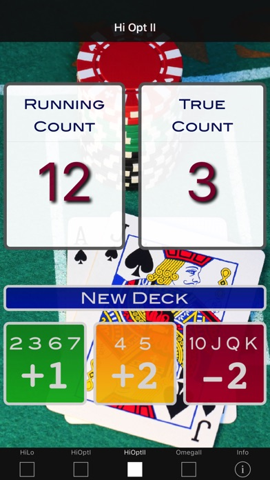 A Blackjack Card Counter review screenshots