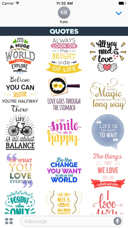Quotes Stickers Effects App screenshot-3