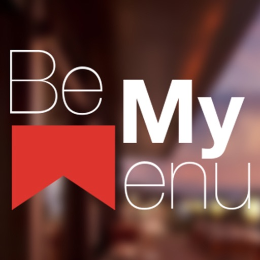 Be My Menu App