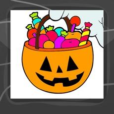 Activities of Halloween Coloring Book App