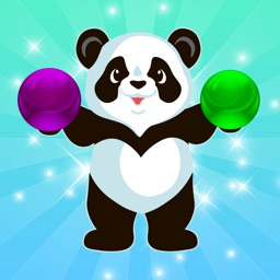 Panda Bubble Pop Wrap Shooter For Kids