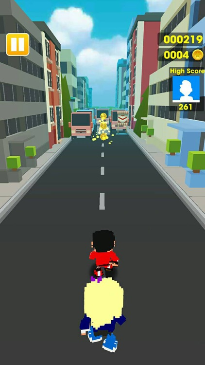 Subway Road - Surfers Running