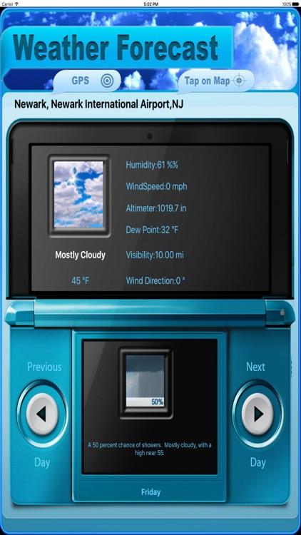 NOAA Weather-HD screenshot-3