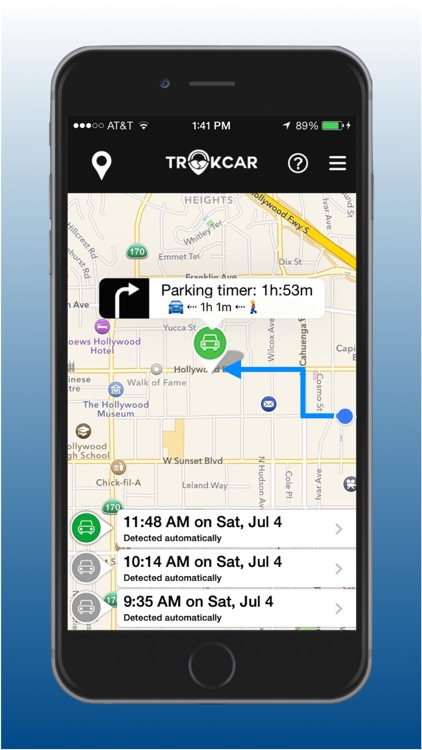 TrakCar - Find Where & for How Long You Parked Car screenshot-3