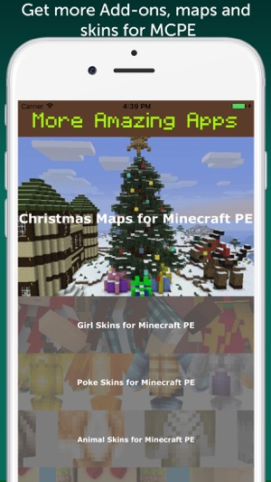 Hunter Weapons Add-On for Minecraft PE: MCPE on the App Store