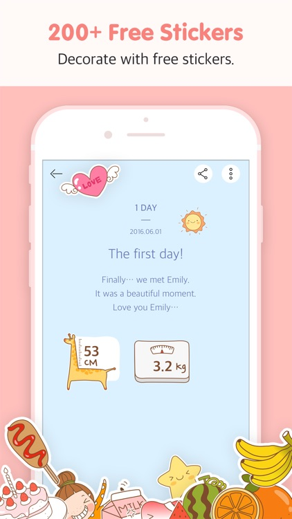 BabyBook - Write the most simple parenting diary