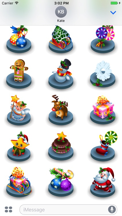 Christmas Fun Sticker Pack for Messaging