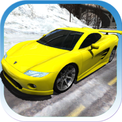 Sports Cars Racing Winter